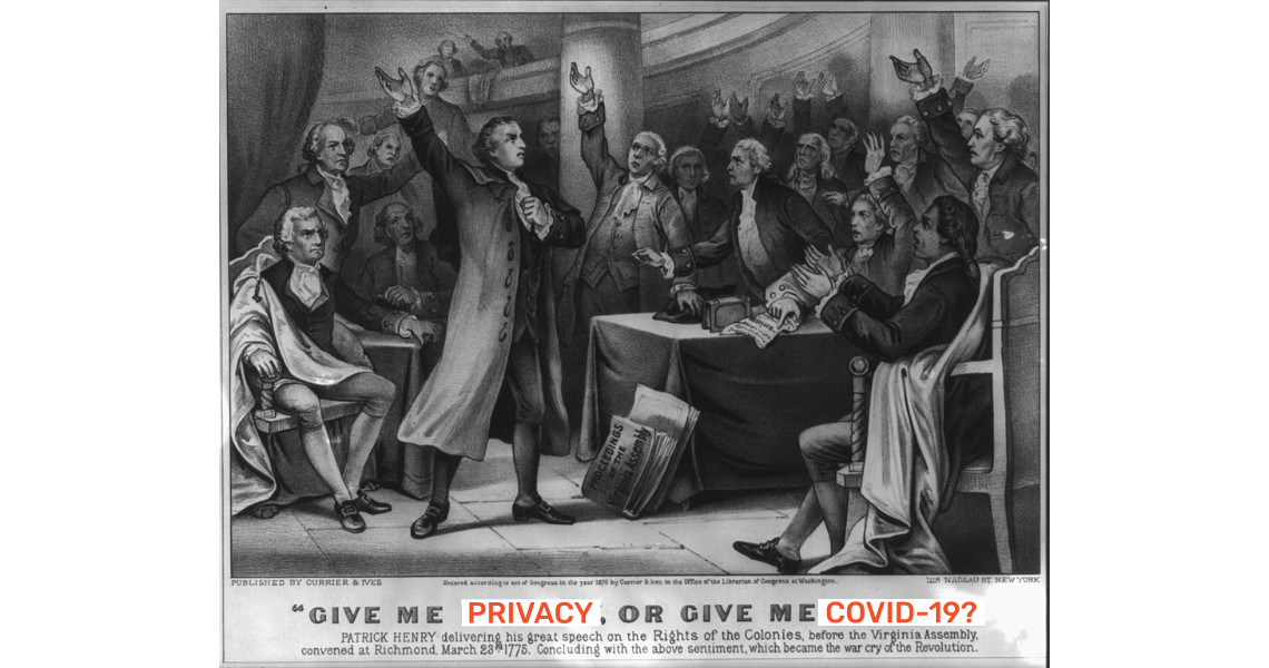 Give me privacy, or give me COVID-19
