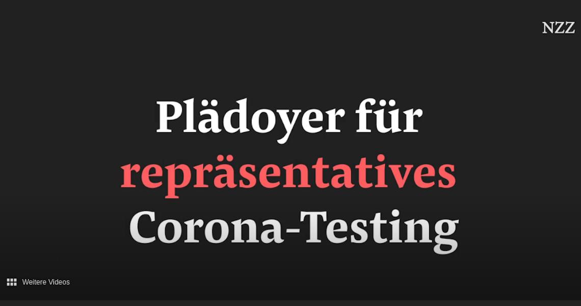 Plädoyer für repräsentatives Corona-Testing